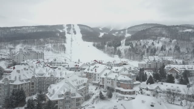 Mont-Tremblant Aerial View