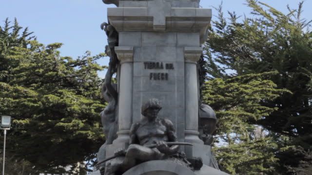 Monument in Punta Arenas, Chile