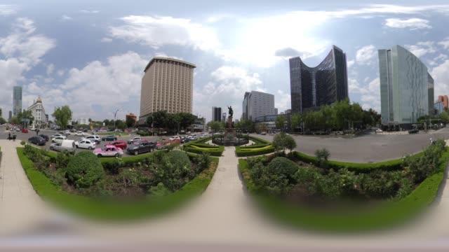 vidéos et rushes de monument of christopher columbus in mexico city in 360 vr - christopher columbus explorateur