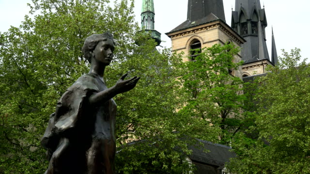 Monument of Grand-Duchess Charlotte, Place de Clairefontaine, Luxembourg city, Luxembourg