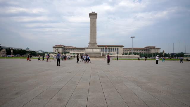 Monument över folkets hjältar i Peking