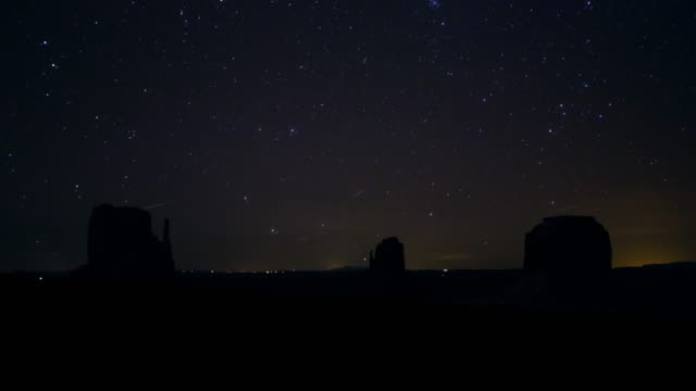 monument valley 4k timelapse - monument valley stock videos and b-roll footage