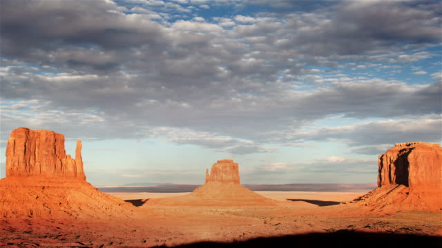 monument valley at dawn, utah - navajo culture stock videos & royalty-free footage