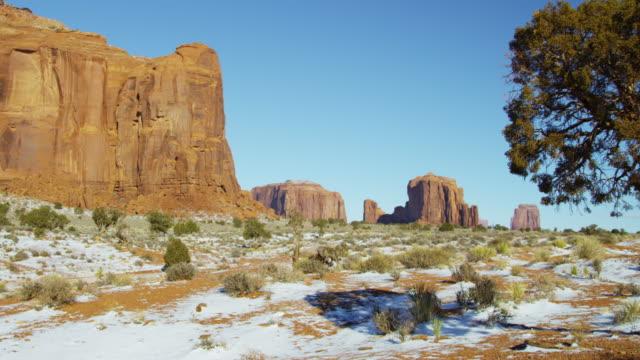 monument valley colorado plateau navajo tribal park desert - colorado plateau stock videos & royalty-free footage