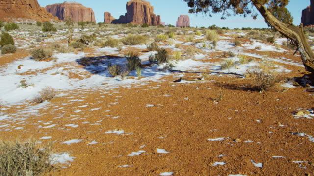 monument valley colorado plateau tribal park sandstone buttes - colorado plateau stock videos & royalty-free footage