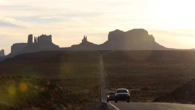 monument valley in western united states - utah video stock e b–roll