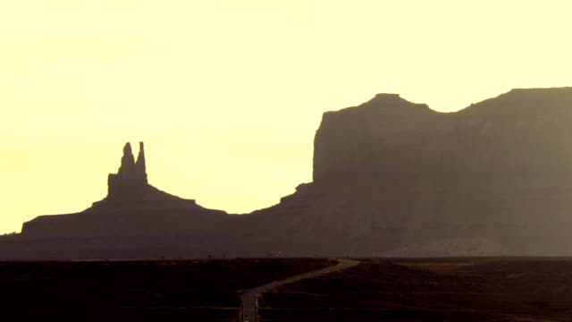 Monument Valley in Western United States