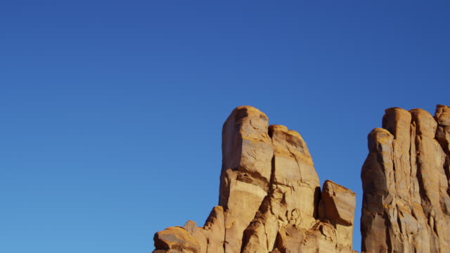monument valley national park rock desert buttes utah - sandstone stock videos & royalty-free footage