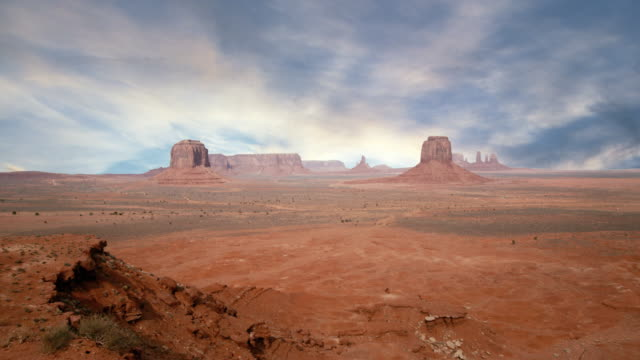 monument valley sunset - wild west stock videos & royalty-free footage