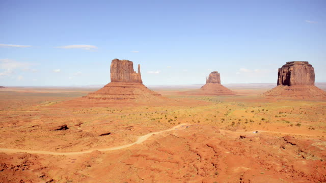 monument valley timelapse - mesa stock videos and b-roll footage