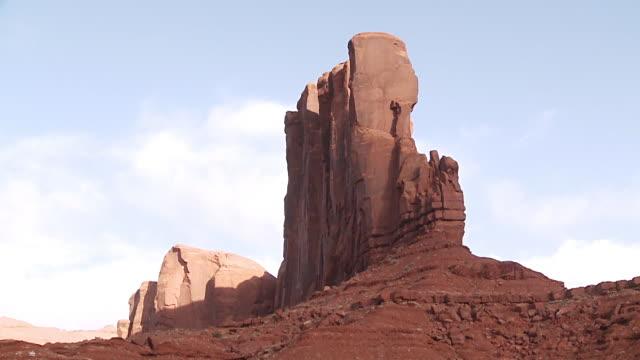 vidéos et rushes de monument valley, utah, usa - monument valley tribal park