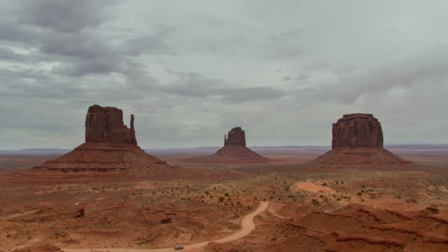 monument valley, utah - rock formation stock videos & royalty-free footage