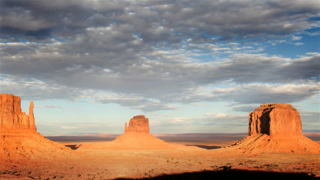 monument valley    - red rocks stock videos and b-roll footage