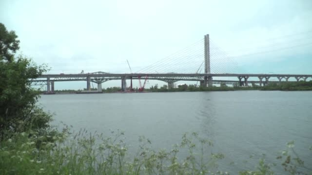 A monumental new bridge spanning the Saint Lawrence River and connecting the island metropolis of Montreal to the rest of Canada is set to open...