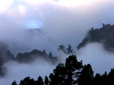 vídeos de stock e filmes b-roll de ntsc: montanhas tempestuoso - forma de água