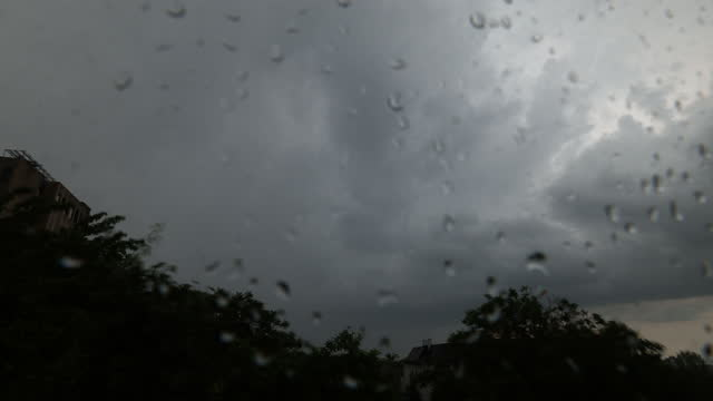 moody storm window view - atmosphere filter stock videos & royalty-free footage