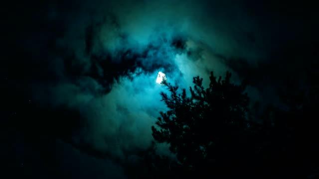 Mond in der Nacht