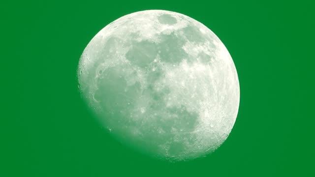 vídeos y material grabado en eventos de stock de llave de croma lunar - astrología