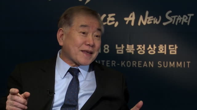 Moon ChungIn Special adviser to South Korean President Moon Jaein saying trust is twodirectional during the InterKorean Summit