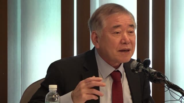 Moon Chungin special advisor to the president for Unification Foreign Affairs and National Security says the situation is completely different from...