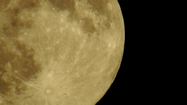 moon close up - telephoto lens stock videos and b-roll footage