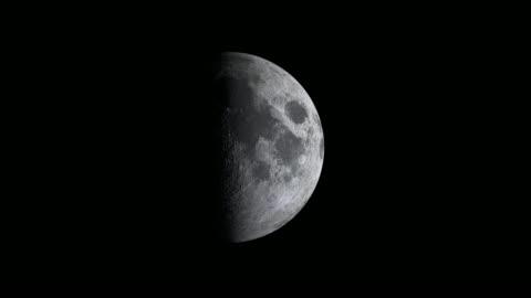 vidéos et rushes de cycle lunaire ou animation de phase lunaire - lune