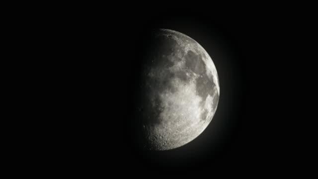T/L CGI Moon going through one calendar month