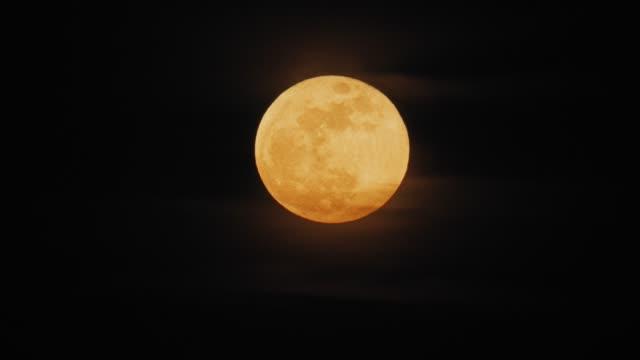 moon illusion supermoon - supermoon stock videos & royalty-free footage