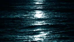 Moon light at sea, loopable
