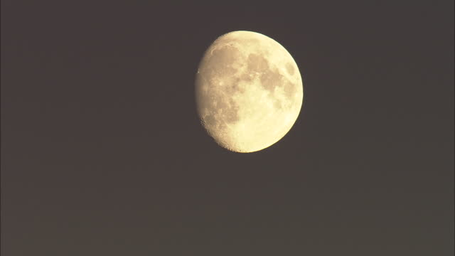 Moon Over Snowdon