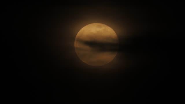 moon - supermoon stock videos & royalty-free footage