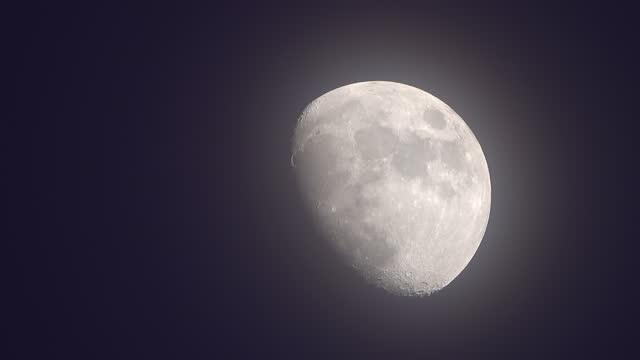 vídeos y material grabado en eventos de stock de luna. - espacio y astronomía