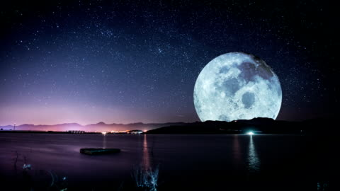 moon - majestic stock videos & royalty-free footage