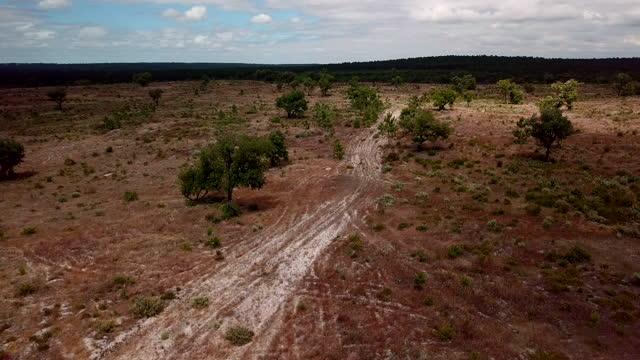 vídeos y material grabado en eventos de stock de paisaje de moros - erial