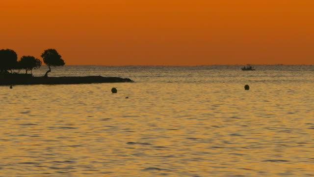 Moorning mood at Playa Muro near Port d' Alcudia, Majorca, Balearic Islands, Spain