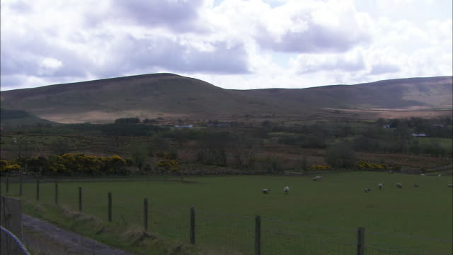 Moors and Hills, pan to right, Northern Ireland