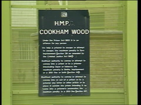 moors murder confession; england: kent: cookham wood newspaper 'both guilty: life for brady, hindley' ext cookham wood prison ; michael fisher... - confession law stock videos & royalty-free footage