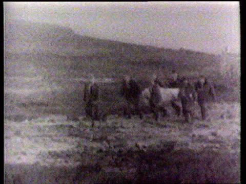 Moors murderer Ian Brady force fed LIB Yorkshire Moors B/W Body of victim of Ian Brady and Myra Hindley carried down from the moors