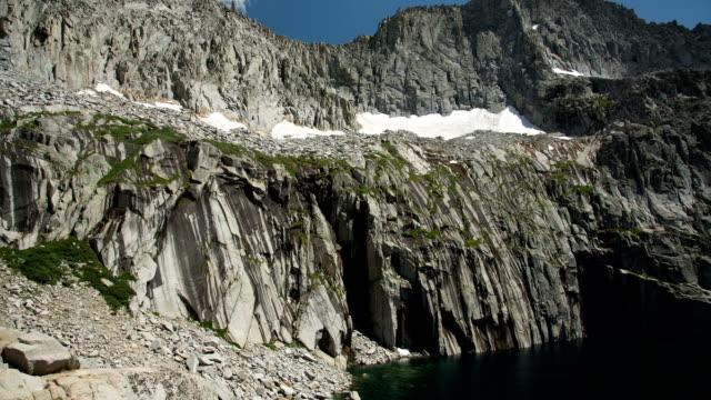 lago moreno - parco nazionale di sequoia video stock e b–roll
