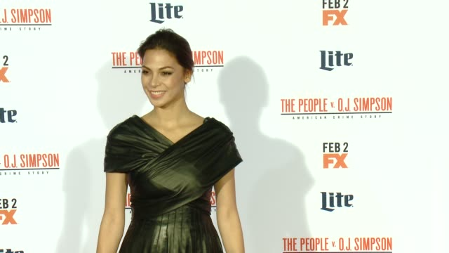 Moran Atias at FX's The People v OJ Simpson American Crime Story Premiere at Westwood Village Theatre on January 27 2016 in Westwood California