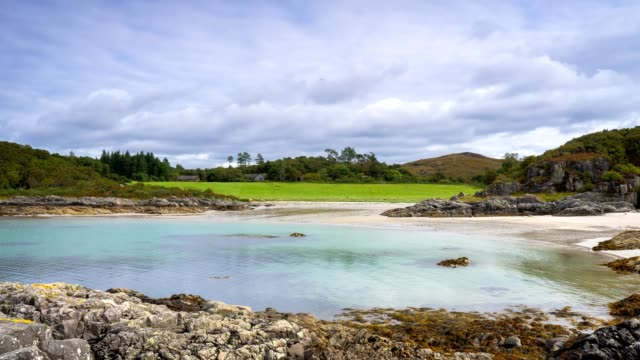 morar time lapse - scozia video stock e b–roll