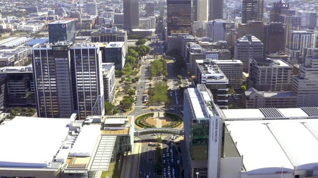 より多くのビジネス、より多くの雇用 - 南アフリカ共和国点の映像素材/bロール