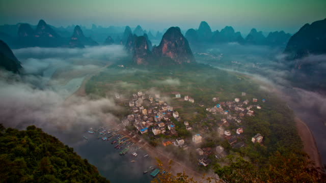 Mehr clips wie thisMore von dieser filmmakerDownload clip-Vorschau Li-Fluss im Morgengrauen und Guilin in China