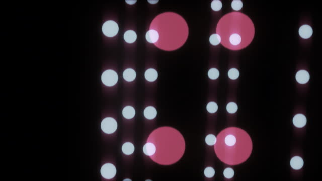 stockvideo's en b-roll-footage met more dancing dots, looping hd background - stippen