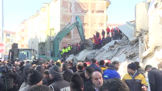 more people were also rescued more than 14 hours after the earthquake hit the eastern turkey. earlier, the country's interior minister said on... - friday stock videos & royalty-free footage