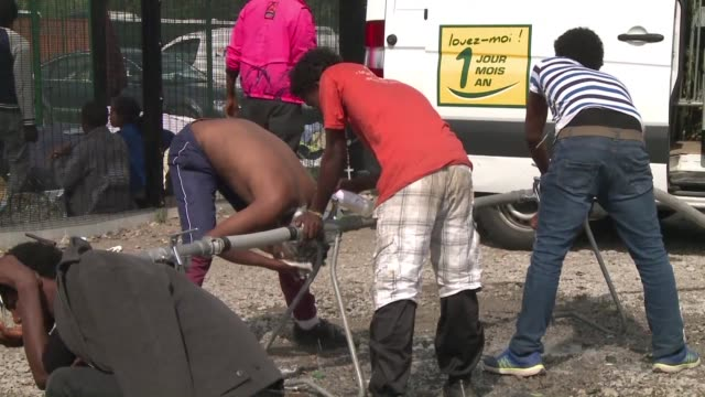 More than 20 migrants have been injured during mass brawls that broke out between Afghans and Africans near the French port of Calais local officials...