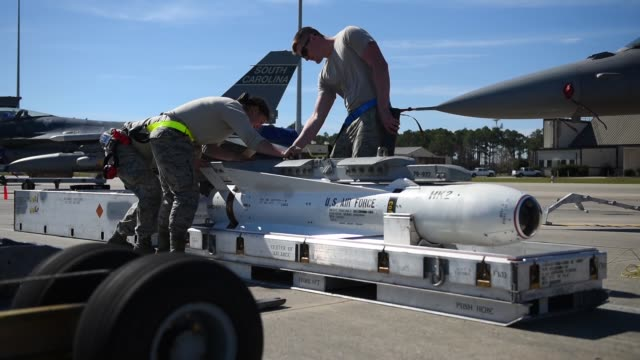 More than 200 Airmen from the 169th Fighter Wing South Carolina Air National Guard are deployed for the Weapons Systems Evaluation Program at Tyndall...