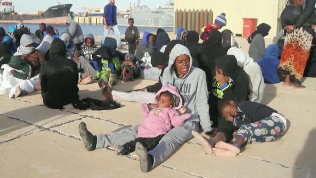 More than 200 migrants were rescued when a boat carrying undocumented African migrants sank off Libya's western coast Sunday evening but at least two...