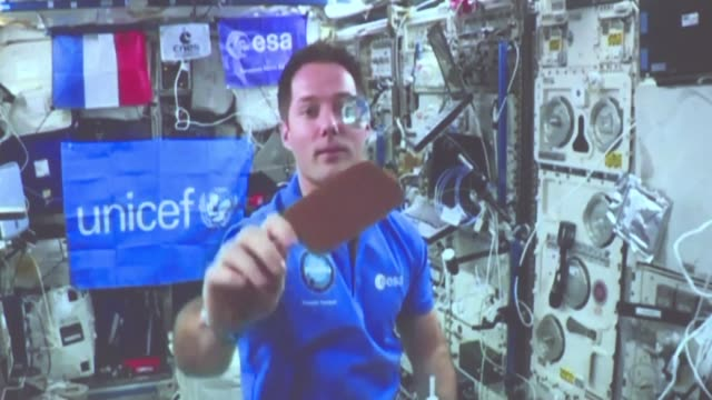 More than 200000 school pupils get the chance to speak to French astronaut Thomas Pesquet in space