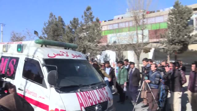 More than 40 people were killed and dozens wounded in a suicide blast targeting Shiites in Kabul Thursday officials said with chaotic scenes at the...